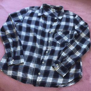 Forever 21   Navy Flannel Shirt